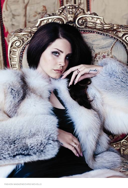 lana del rey fashion magazine 2014 02 Lana Del Rey Stars in FASHION Magazine, Opens Up About Love Life