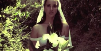 "Lana Del Rey is a Sad But Beautiful Bride in Her ""Ultraviolence"" Music Video"