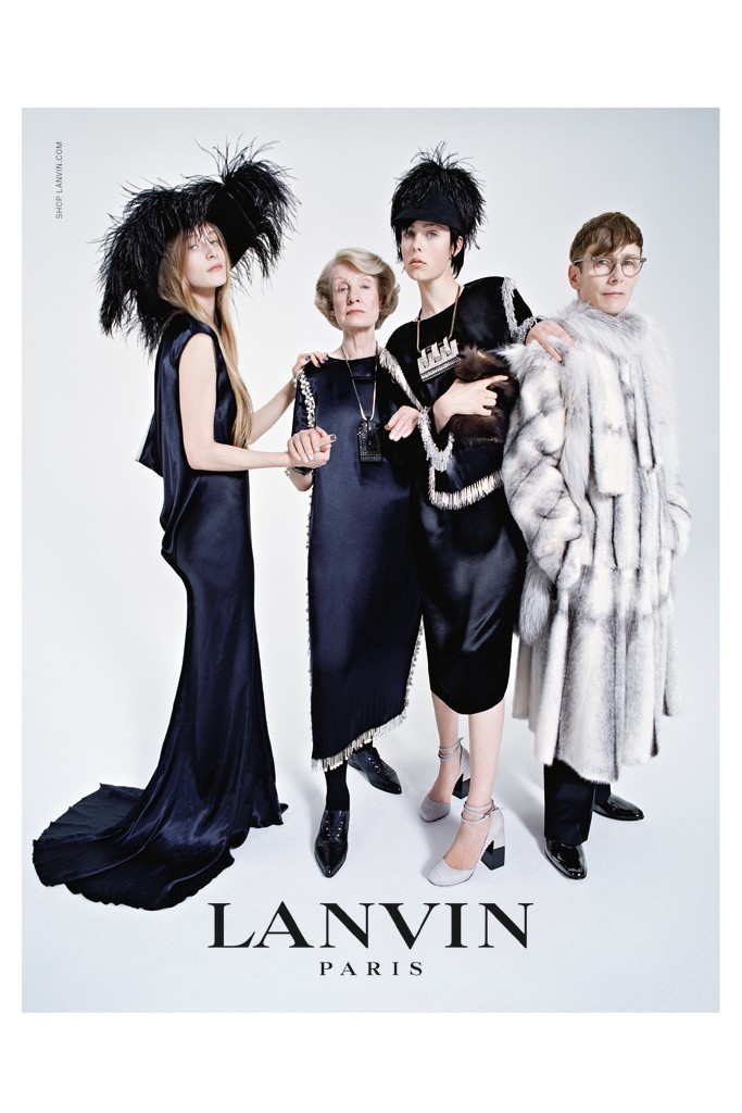 Watch: Edie Campbell and Her Family for Lanvin's Fall Campaign Video