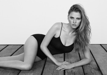 Lara Stone Stars in The Edit, Talks Post Baby Body