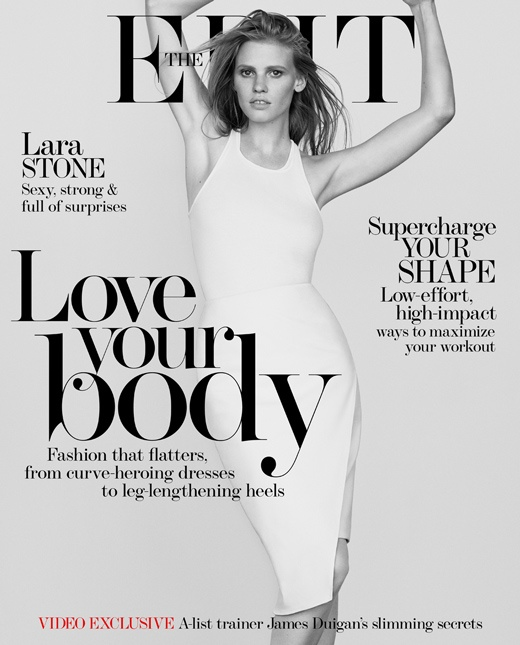 lara stone body shoot6 Lara Stone Stars in The Edit, Talks Post Baby Body