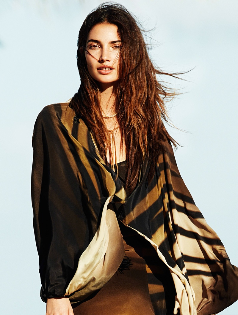 lily aldridge derek kettela 17 Lily Aldridge Wears Bohemian Style for Glamour France by Derek Kettela