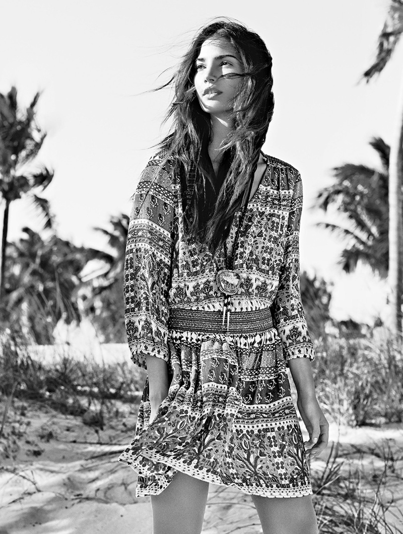 lily aldridge derek kettela 18 Lily Aldridge Wears Bohemian Style for Glamour France by Derek Kettela