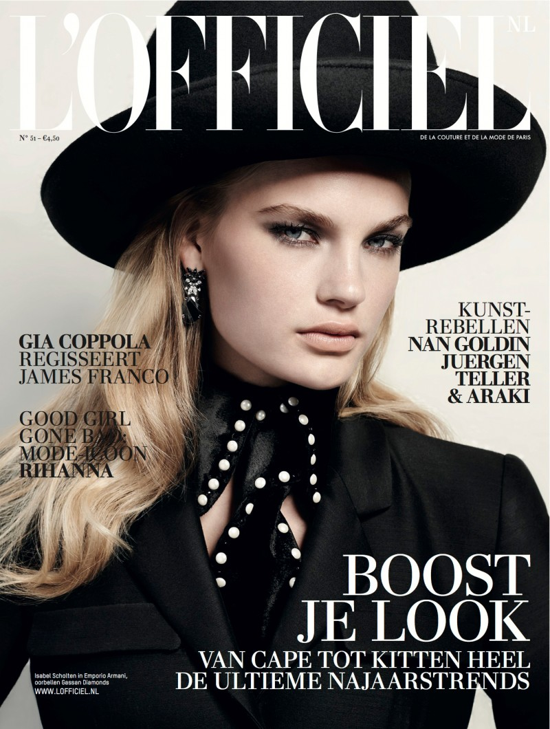 lofficiel cover dutch 800x1060 Milou Sluis & Isabel Scholten Go to the Laundromat for LOfficiel Netherlands