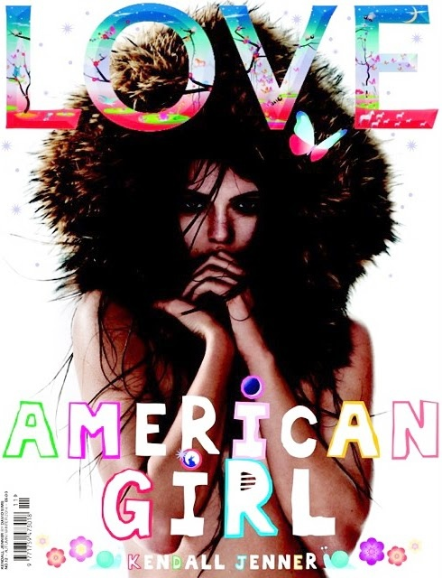 love magazine fw 2014 covers1 Adriana Lima, Kendall Jenner + Amy Adams Cover LOVE F/W 2014