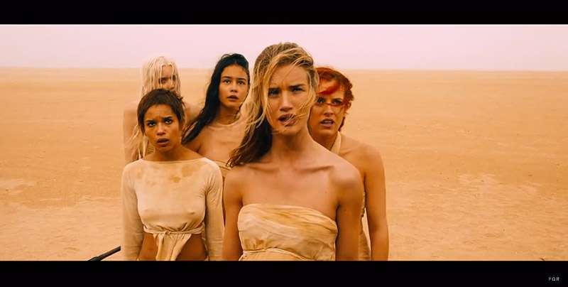 "First Look at Rosie Huntington-Whiteley & Abbey Lee Kershaw in the ""Mad Max: Fury Road"" Trailer"