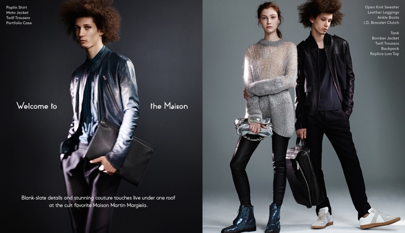 maison martin margiela barneys1 Welcome to the Maison: Barneys Launches Maison Martin Margiela Lookbook