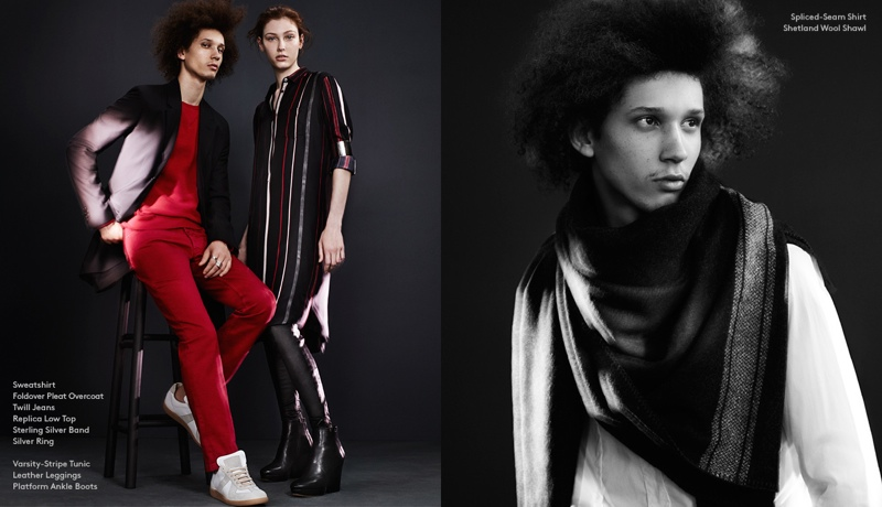 maison martin margiela barneys5 Welcome to the Maison: Barneys Launches Maison Martin Margiela Lookbook