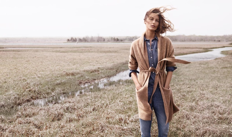 Daria Werbowy is Back for Mango's Fall/Winter 2014 Campaign!