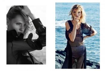 Maria Loks Embraces Summer for Elle Poland Shoot by Agata Pospieszynska
