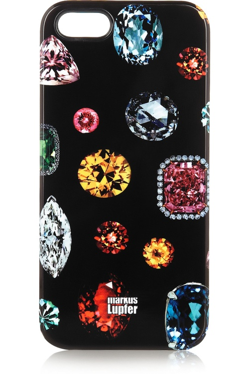 markus lupfer jewel print designer iphone cover 5 Top Designer iPhone Cases: From Karl Lagerfeld to Moschino