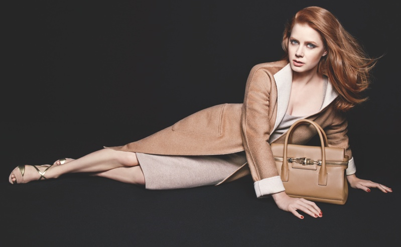 max mara amy adams 2014 ads2 More Photos of Amy Adams for Max Maras Accessories Campaign