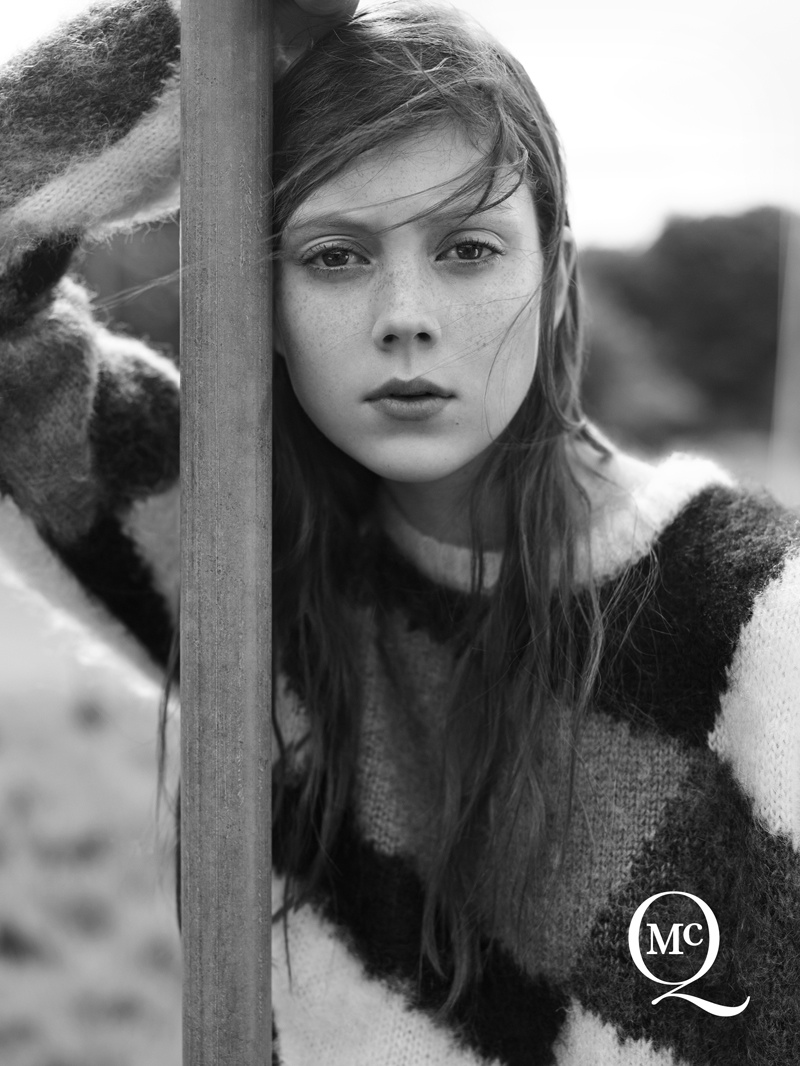mcq alexander mcqueen 2014 fall winter campaign1 Natalie Westling Poses in London for McQ by Alexander McQueen Fall 2014 Campaign