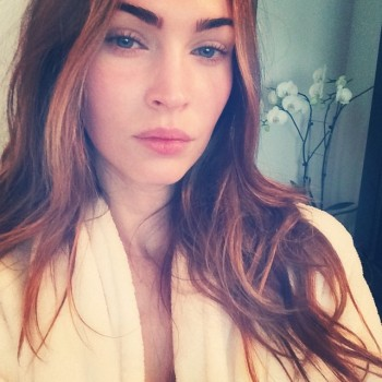Megan Fox Goes Makeup Free in First Instagram Selfie