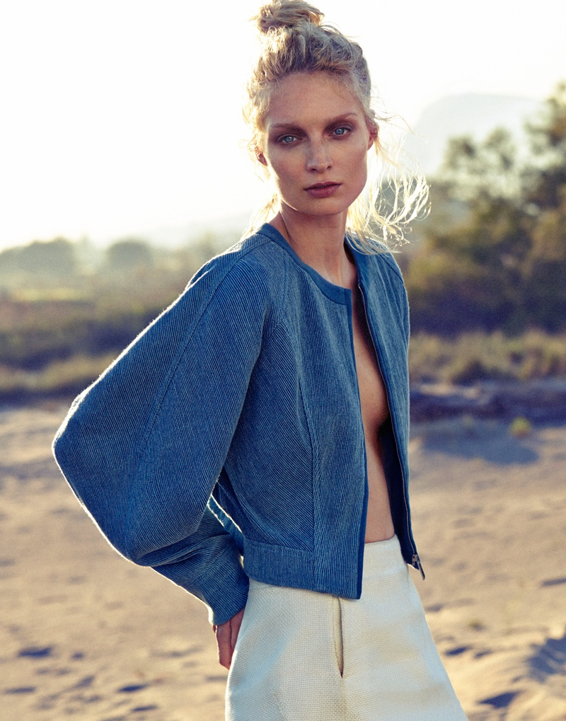 melissa tammerijn xavi gordo photos12 Melissa Tammerijn is a Beach Beauty for Xavi Gordo in Elle Russia