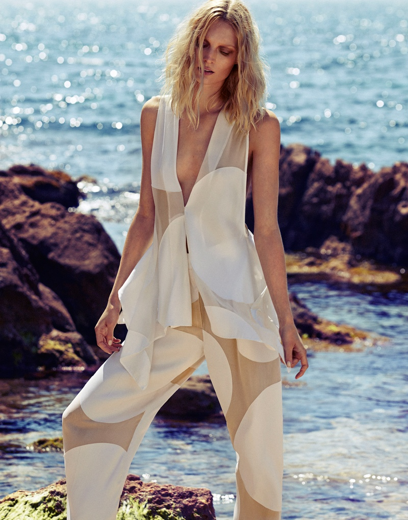 melissa tammerijn xavi gordo photos4 Melissa Tammerijn is a Beach Beauty for Xavi Gordo in Elle Russia