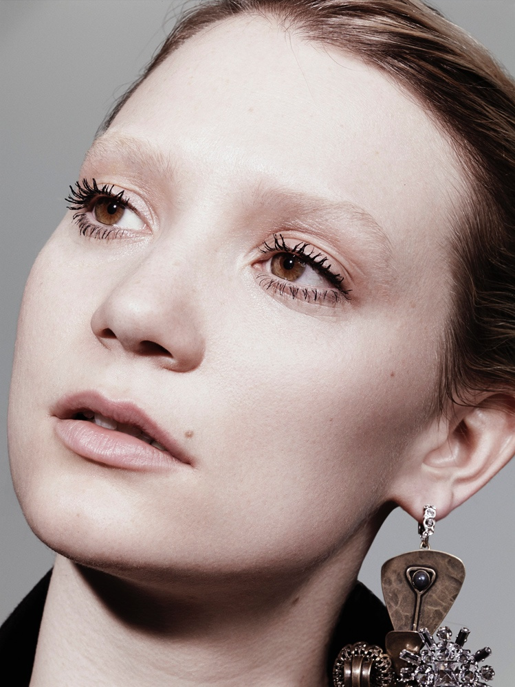 mia wasikowska 2014 3 Mia Wasikowska Stars in Interview Magazines August Issue