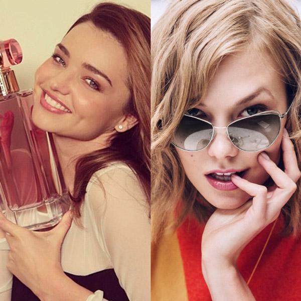 miranda karlie trendsetters Miranda Kerr & Karlie Kloss Named Fashion Trendsetters