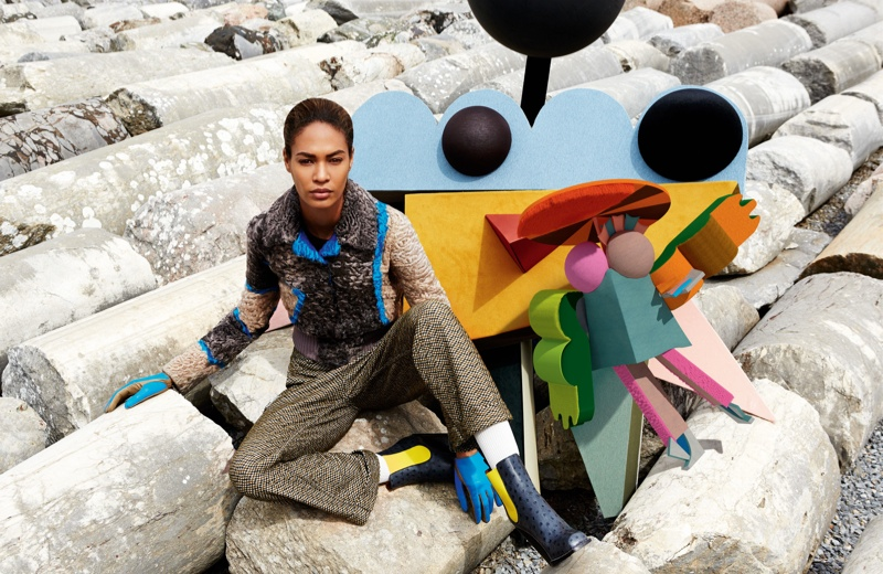 missoni 2014 fall winter campaign10 Missoni Enlists Joan Smalls for Surreal Fall 2014 Campaign
