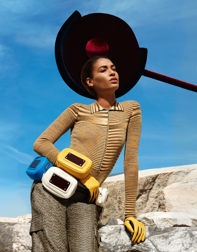 missoni 2014 fall winter campaign12 Missoni Enlists Joan Smalls for Surreal Fall 2014 Campaign