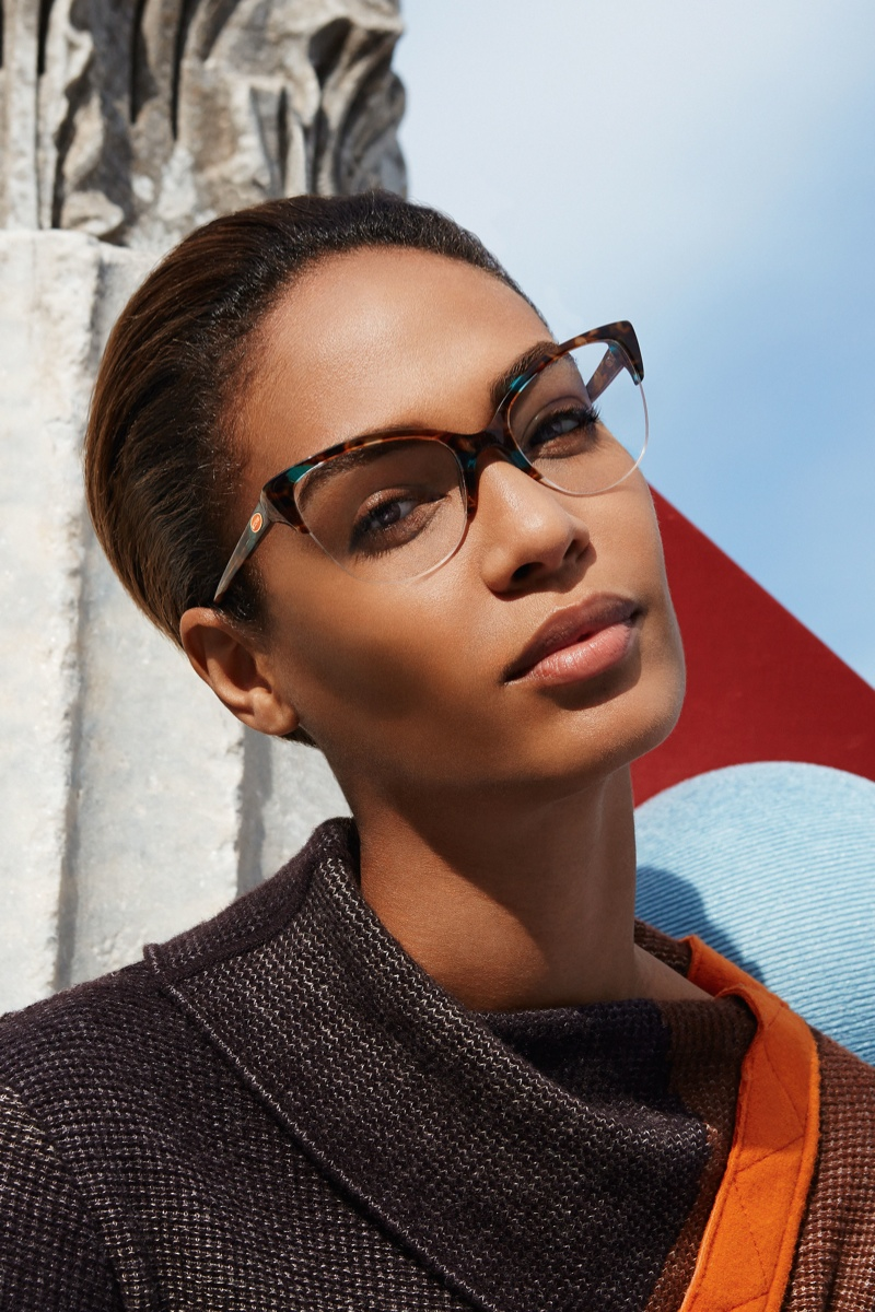 missoni 2014 fall winter campaign14 Missoni Enlists Joan Smalls for Surreal Fall 2014 Campaign