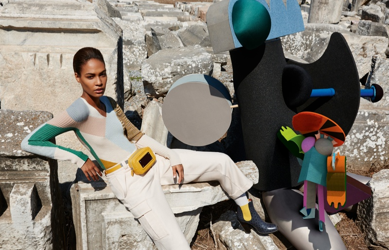 missoni 2014 fall winter campaign2 Missoni Enlists Joan Smalls for Surreal Fall 2014 Campaign