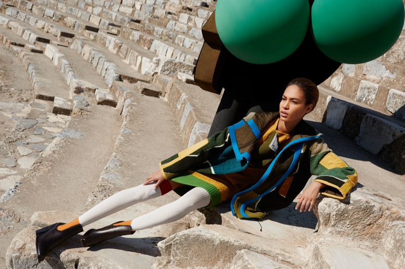 missoni 2014 fall winter campaign6 Missoni Enlists Joan Smalls for Surreal Fall 2014 Campaign