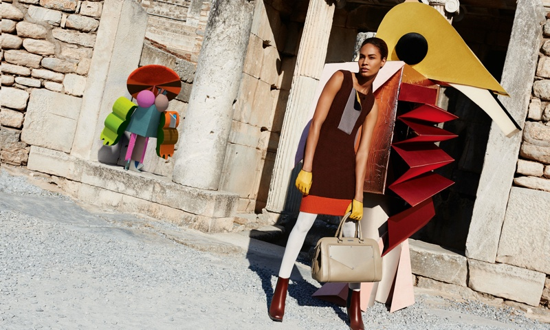 missoni 2014 fall winter campaign7 Missoni Enlists Joan Smalls for Surreal Fall 2014 Campaign