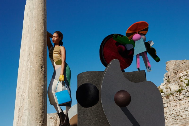 missoni 2014 fall winter campaign8 Missoni Enlists Joan Smalls for Surreal Fall 2014 Campaign