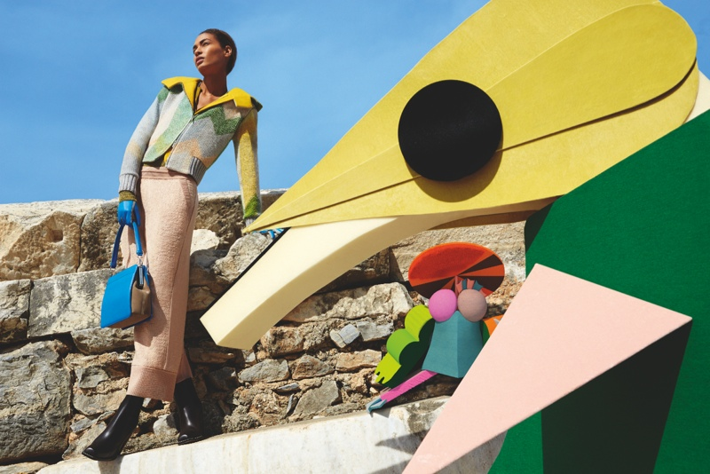 missoni 2014 fall winter campaign9 Missoni Enlists Joan Smalls for Surreal Fall 2014 Campaign