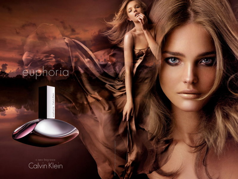 Russian model Natalia Vodianova was famously the face of Calvin Klein for eight consecutive season's during the mid-2000s. In addition to fronting campaigns for CK's underwear and jeans lines, Natalia also had a lucrative contract as the face of Calvin Klein's Euphoria fragrance, dating back to 2005.