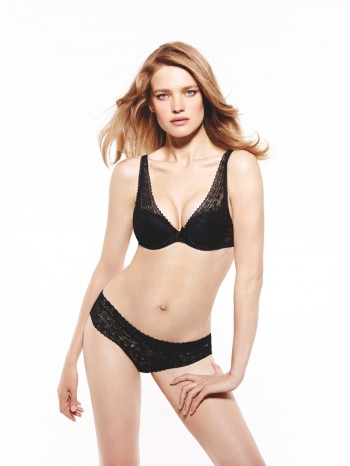 Natalia Vodianova Stars in New Ads for Etam's Fall '14 Lingerie Line