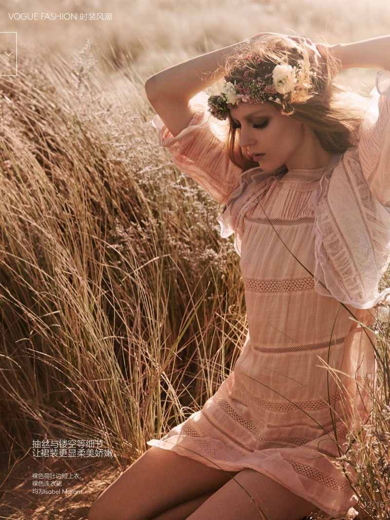 natalie kati mikael jansson10 Kati Nescher & Natalie Westling Are Nature Girls for Vogue China by Mikael Jansson