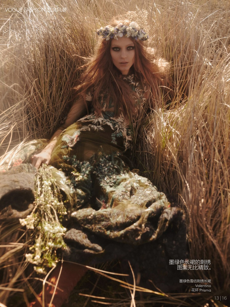 natalie kati mikael jansson11 Kati Nescher & Natalie Westling Are Nature Girls for Vogue China by Mikael Jansson
