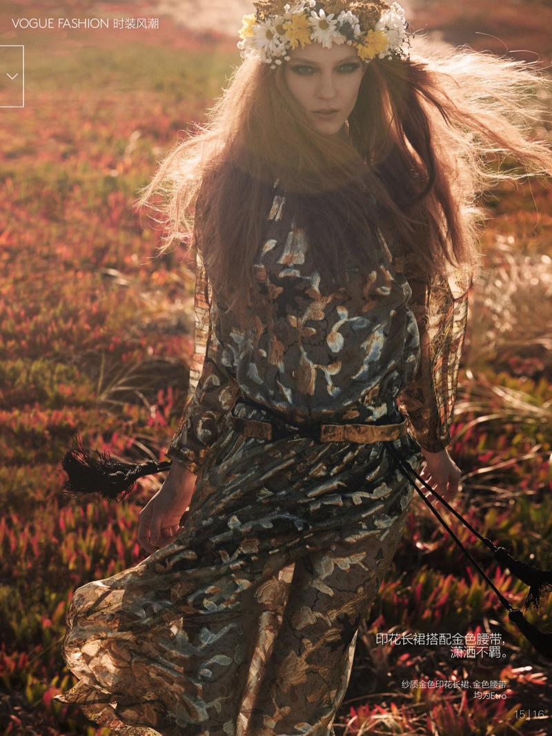 natalie kati mikael jansson13 Kati Nescher & Natalie Westling Are Nature Girls for Vogue China by Mikael Jansson