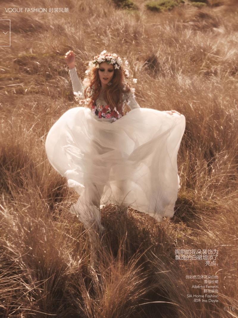natalie kati mikael jansson5 Kati Nescher & Natalie Westling Are Nature Girls for Vogue China by Mikael Jansson