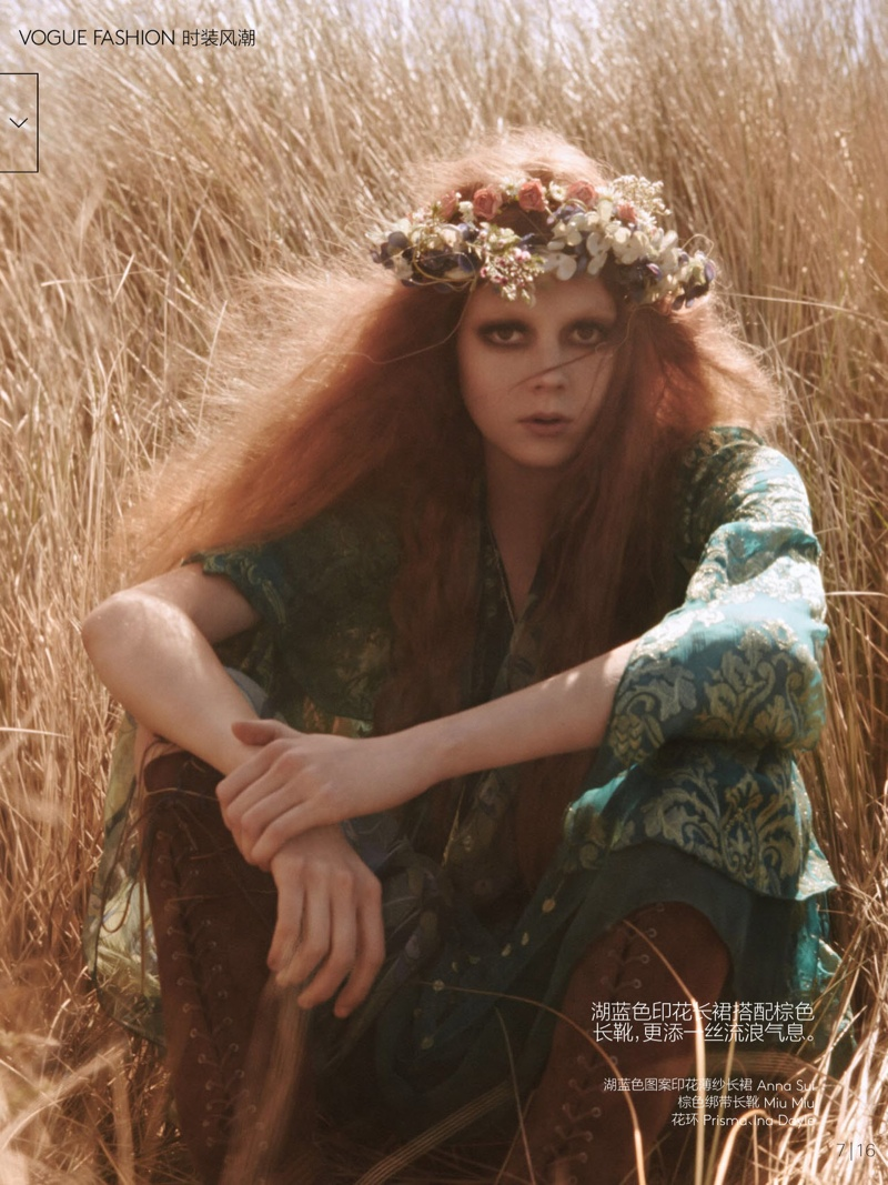 natalie kati mikael jansson6 Kati Nescher & Natalie Westling Are Nature Girls for Vogue China by Mikael Jansson