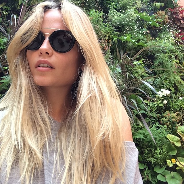 Natasha Poly takes a beautiful selfie