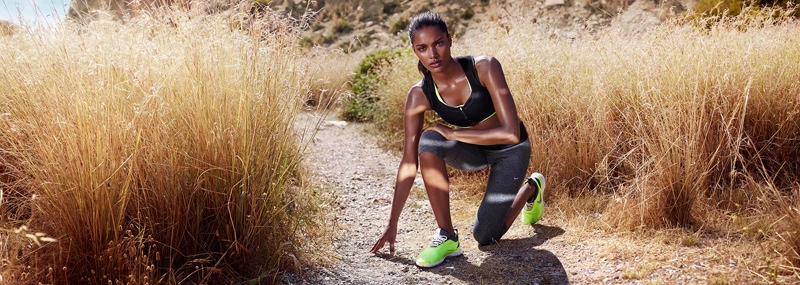 net a sporter campaign photos4 Nadia Araujo Wears Activewear Style in Net a Sporter Campaign by Hunter & Gatti