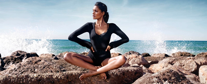 net a sporter campaign photos9 Nadia Araujo Wears Activewear Style in Net a Sporter Campaign by Hunter & Gatti
