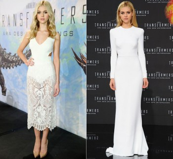 Nicola Peltz Stuns at 'Transformers' Events in 2 Stella McCartney Looks