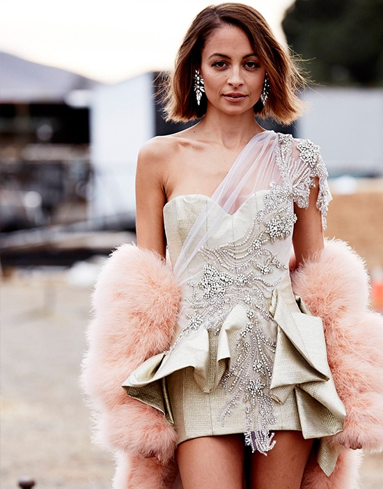 nicole richie 2014 3 Nicole Richie Joins the Circus for Elle Australia Cover Shoot
