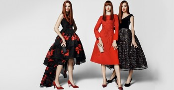 Miranda Kerr, Ava Smith + Lindsey Wixson Return for Ochirly's Fall Ads