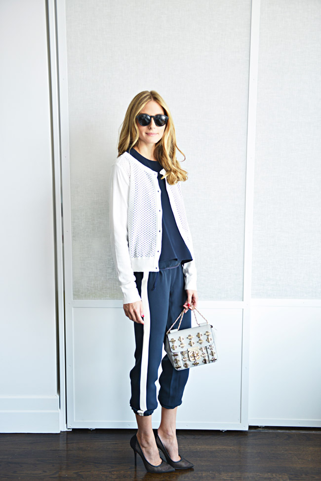 Olivia Palermo wears Aquazarra shoes. Image: Olivia's Blog
