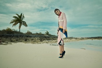Keke Lindgard Poses in the Bahamas for SCMP Style by Paul de Luna