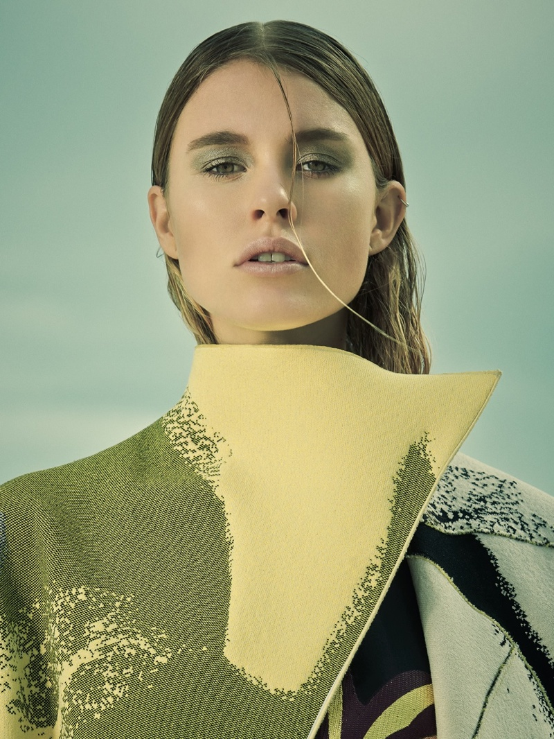 paule de luna photography 2014 5 Keke Lindgard Poses in the Bahamas for SCMP Style by Paul de Luna