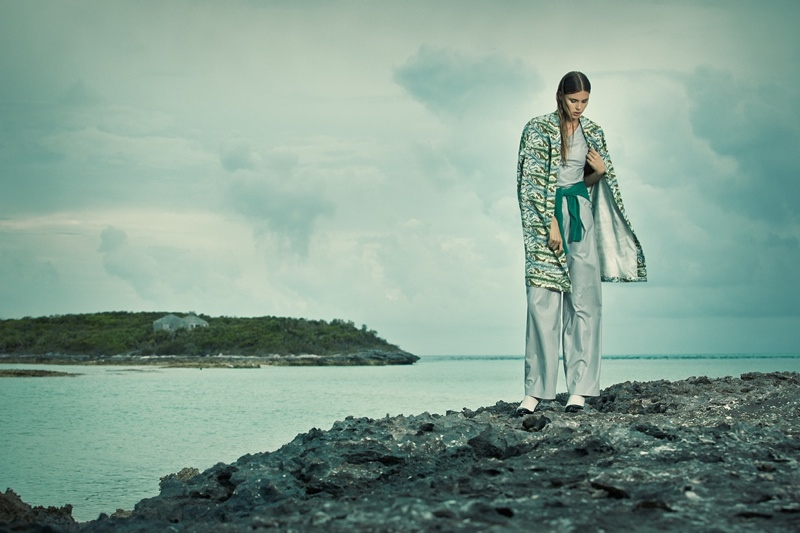 paule de luna photography 2014 8 Keke Lindgard Poses in the Bahamas for SCMP Style by Paul de Luna