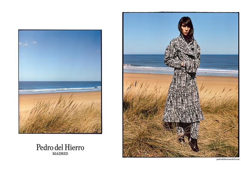 pedro del hierro 2014 fall winter campaign1 Pedro del Hierro Taps Jamie Bochert for Seaside Fall 2014 Campaign