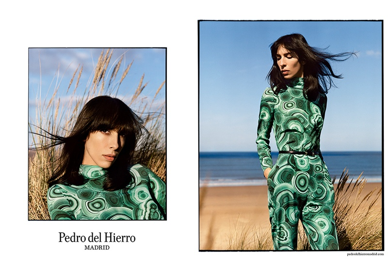 pedro del hierro 2014 fall winter campaign2 Pedro del Hierro Taps Jamie Bochert for Seaside Fall 2014 Campaign