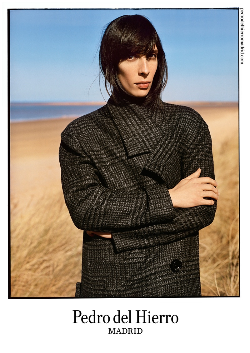 pedro del hierro 2014 fall winter campaign3 Pedro del Hierro Taps Jamie Bochert for Seaside Fall 2014 Campaign